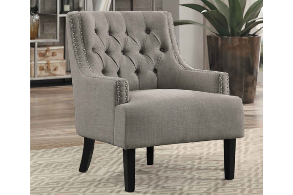 Groovy Accent Chair 1194 Taupe Machost Co Dining Chair Design Ideas Machostcouk
