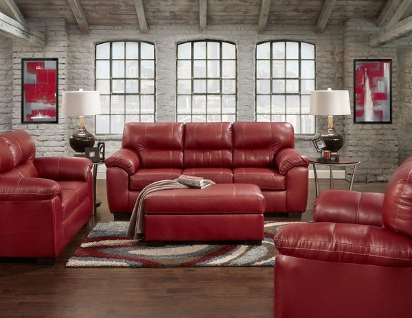 2pc-red-sofa-and-loveseat
