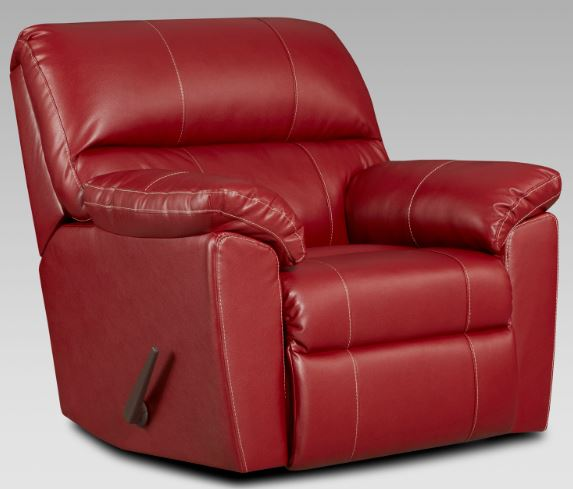 5600 red recliner
