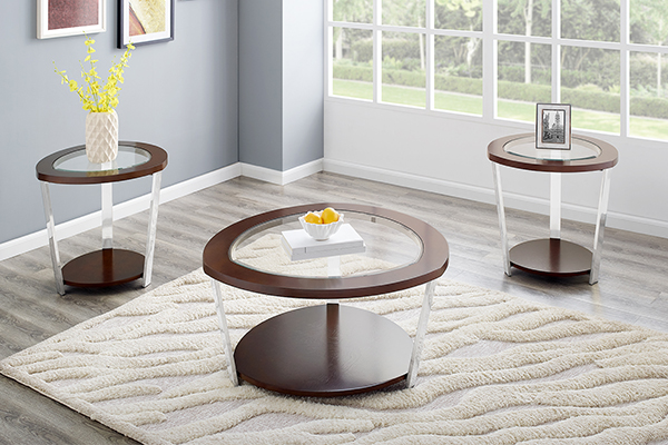 3 Pc Table Set Dn3000 Big Dan S Furniture Amp Mattress